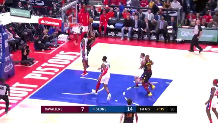 Tristan Thompson (Cavaliers), el más destacado de la jornada de la NBA del 9 de enero 2020