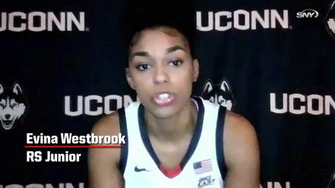 Huskies All Access: Junior Evina Westbrook evaluates the freshman class
