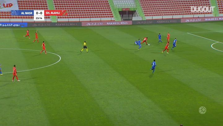 Arabian Gulf League: Shabab Al Ahli 2-2 Al Nasr