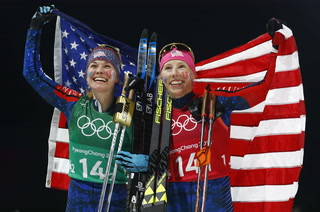 U.S. Earns First-Ever Gold Medal in Cross-Country Skiing
