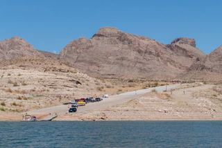 Accessing Lake Mead