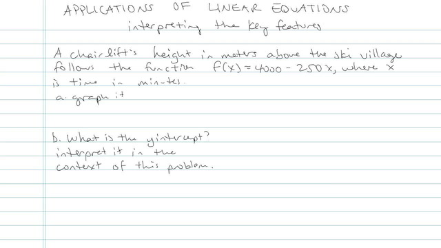 Applications of Linear Equations - Problem 8