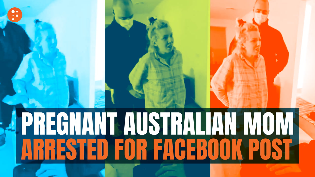 Pregnant Australian Mom Arrested for Facebook Post