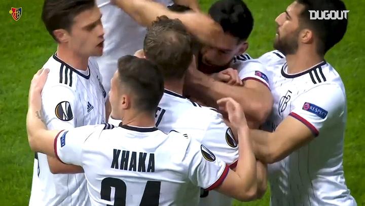 FC Basel's three brilliant finishes earn first leg lead vs Eintracht Frankfurt