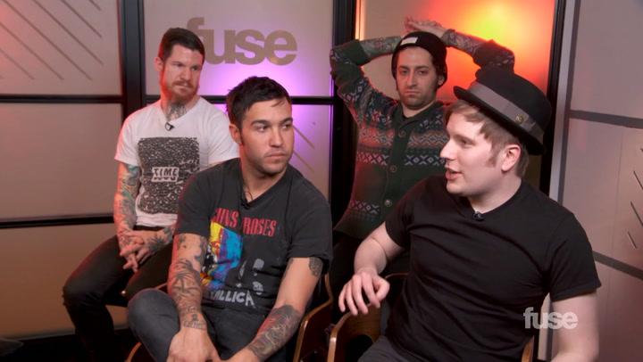Fall Out Boy Had a GRAMMY Meltdown Because of Kanye West