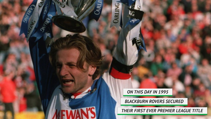 On this day - Blackburn Rovers lift 1994/95 Premier League title