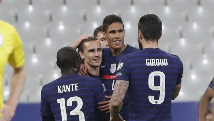Golazo histórico de Griezmann con Francia
