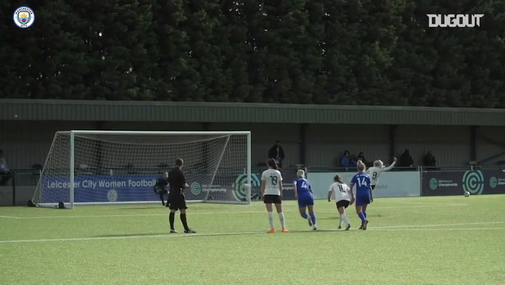 Stanway's superb lob secures Man City Women's win over Leicester