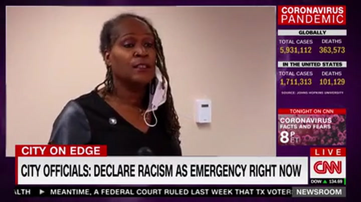 CNN's Baldwin Breaks Down on Air: As a White Woman, Aware of My Own Privilege 'I Am So Angry'