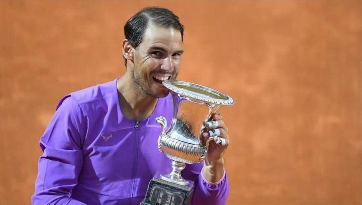 Rafa Nadal, campeón 10 de Roma ganando a Djokovic en una gran final