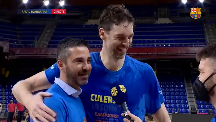 Gasol and Navarro, two great friends