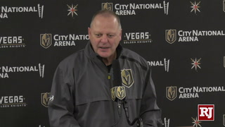 Gallant Talks Improving Knights Game After Fourth Straight Home Loss – VIDEO