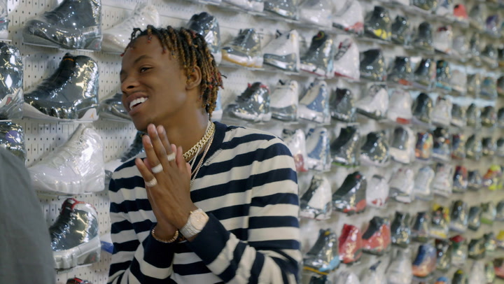 Rich The Kid: Sneaker Shopping