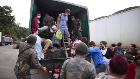 Quiero volver a intentar Hondureños insistirán en caminar hacia EEUU
