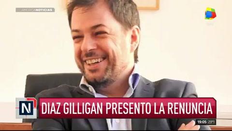 Renunció Díaz Gilligan luego del escándalo de la cuenta en Andorra