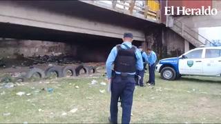Encuentran hombre  asesinado  en las orillas del río Motagua