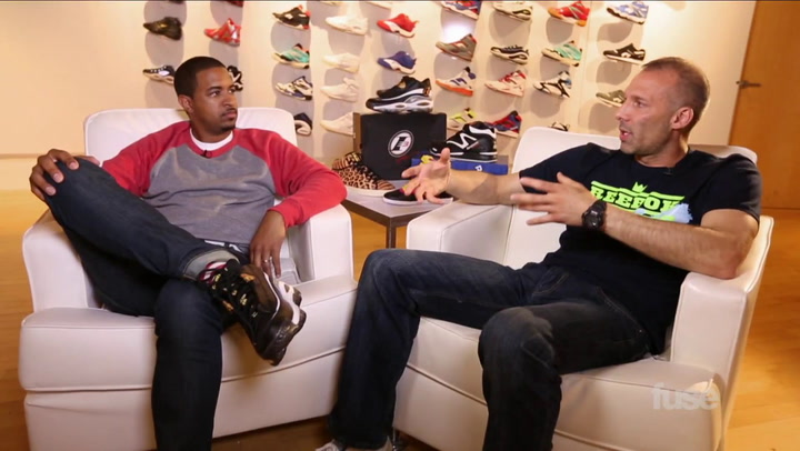 Hip-Hop Stars & NBA Legends Signature Sneakers