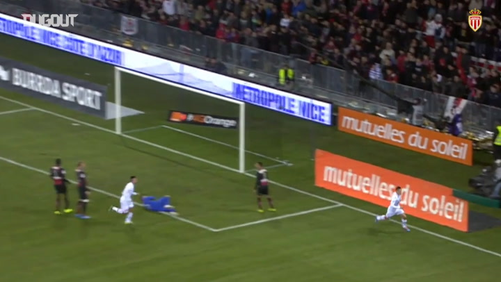 James Rodríguez expertly fires past OGC Nice