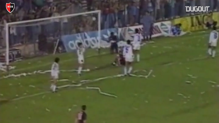 Relive: Diego Maradona's Newells Debut