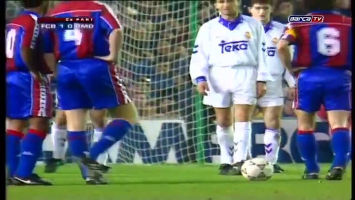 Golazo de Koeman al Real Madrid en 1994