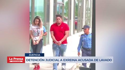 Detención judicial a exreina acusada de lavado de activos
