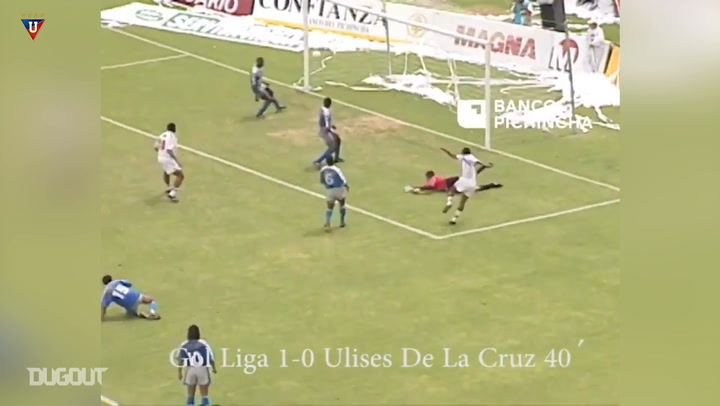 Liga de Quito's historic 7-0 victory to win their 1998 title