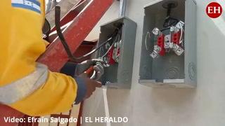 Cortes de electricidad en la colonia Tepeyac de la capital