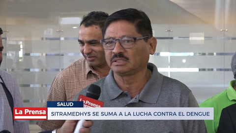 SITRAMEDHYS se suma a la lucha contra el dengue