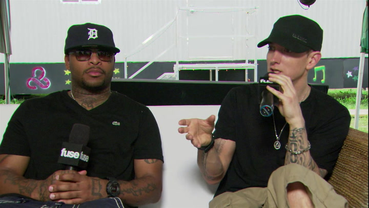 Eminem and Royce da 5'9 Discuss Fallout and Reunion of Bad Meets Evil: #TBT 2011