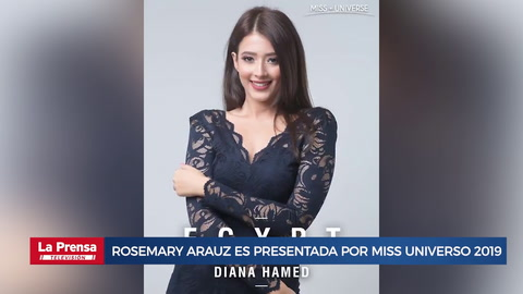La hondureña Rosemary Arauz es oficialmente presentada por Miss Universo 2019