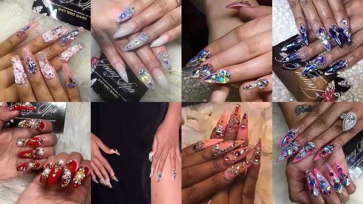 Cardi B's Nail Stylist Jenny Bui Shows What Goes Into the Rapper's 3-Hour Manicure