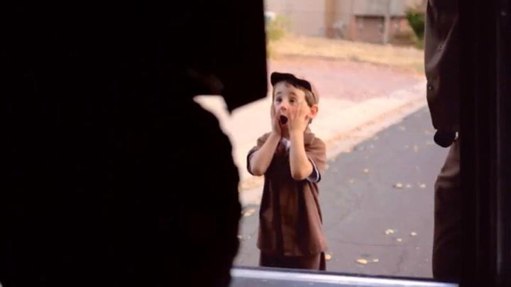 Hans største drøm er å levere pakker for UPS