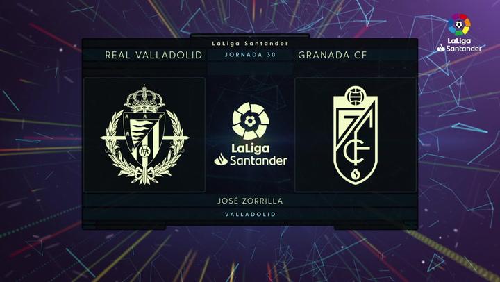 LaLiga (J30): Resumen y goles del Valladolid 1-2 Granada