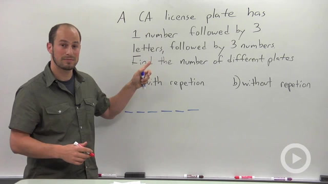 Fundamental Counting Principal - Problem 2