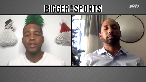 Bigger Than Sports: Mets scout Drew Toussaint on Dom Smith and lack of Black MLB players