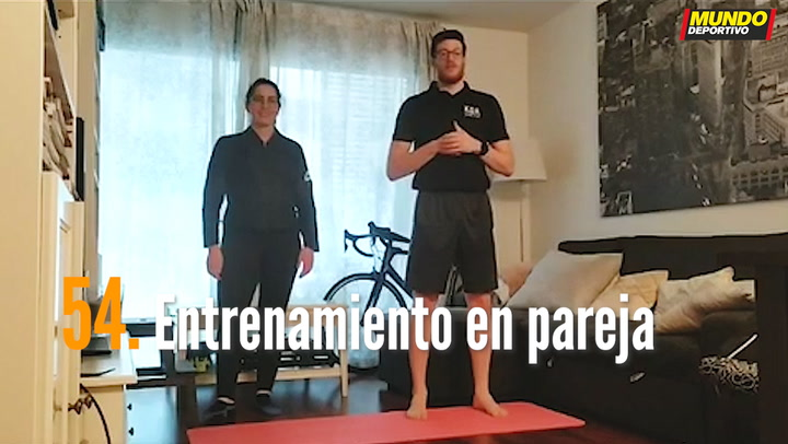 ENTRENA EN CASA (54): Entrenamiento en pareja