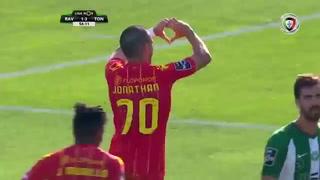 Jonathan Rubio marca su primer gol con el Tondela de Portugal