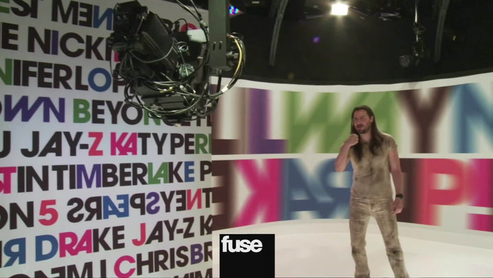 Andrew W.K. Behind The Scenes: Hosting Top 100 Party Playlist For Fuse TV