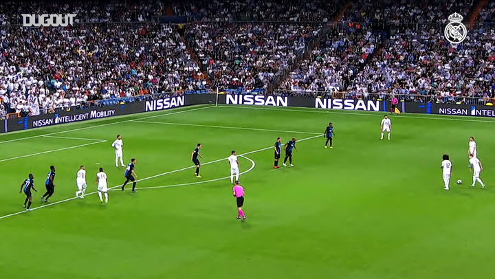 All of Real Madrid's Goals during the Champions League