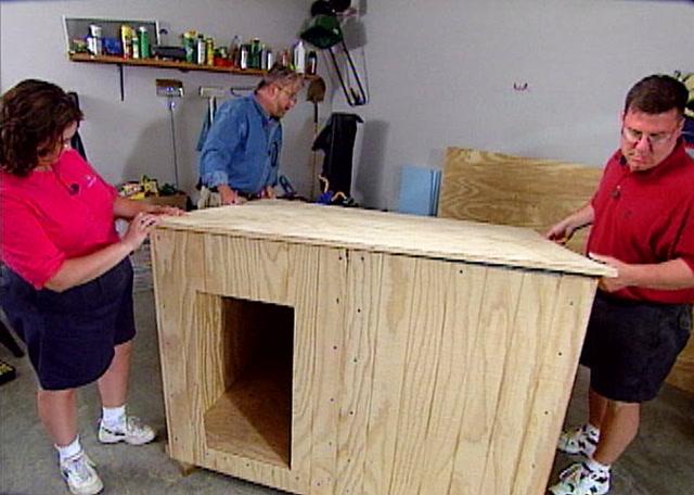 How To Build A Custom Insulated Dog House Ron Hazelton