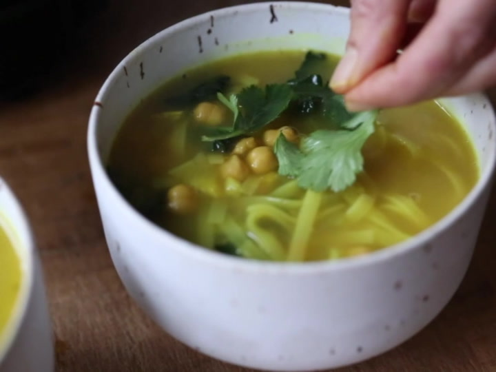 Turmeric Broth Detox Soup