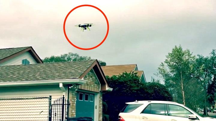 Spent mann mistet dronen på FØRSTE flytur