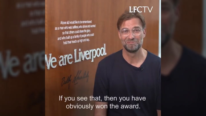 Klopp's message to PFA POTY Mo Salah