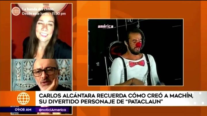 Carlos Alcántara reveló cómo creó a su personaje de 'Machín' en Pataclaun