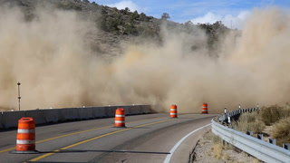 NDOT construction blasting along State Route 106