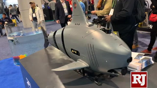 Underwater robots make waves at CES 2019 in Las Vegas