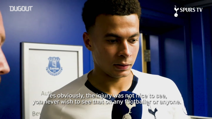Dele Alli: You never wish to see that injury on any footballer