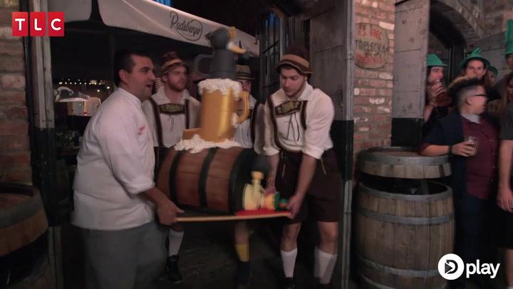 Oplev den fantastiske Oktoberfestkage fyldt med øl