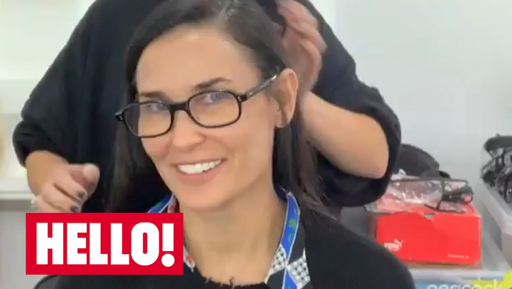 Demi Moore undergoes major transformation and you have to see it to believe it
