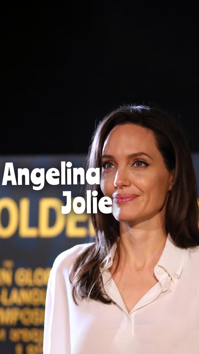 Hep konuşturan Angelina Jolie